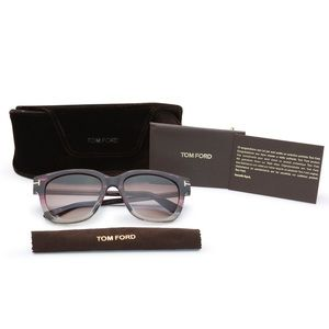Authentic Tom Ford Purple Tracy Sunglasses + Case